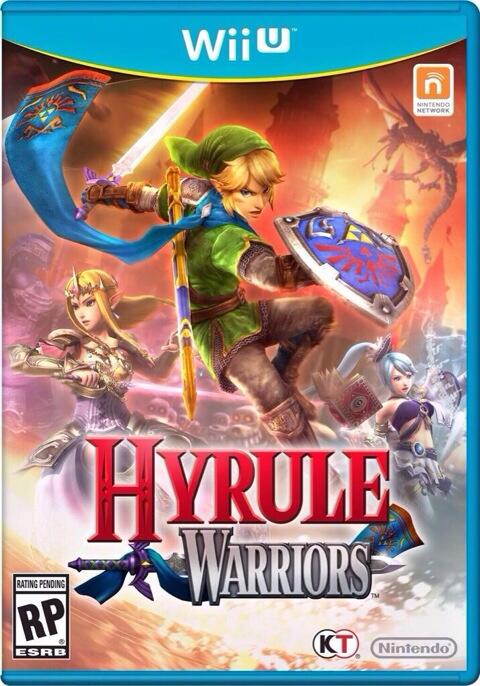 Jaquette de Hyrule Warriors