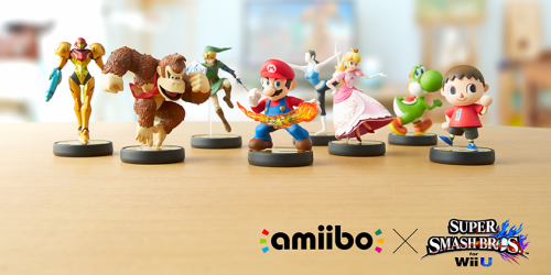 Figurines amiibo Super Smash Bros. Wii U