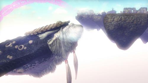 Screenshot de Célesbourg dans Hyrule Warriors