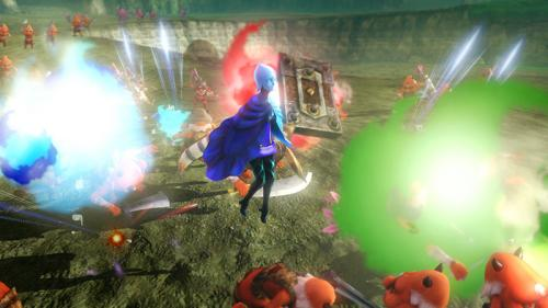 Screenshot  de Fay dans Hyrule Warriors