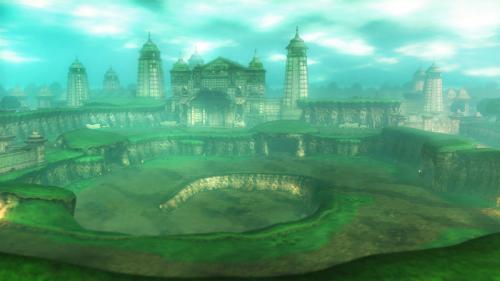 Screenshot du Vallon du Sceau dans Hyrule Warriors