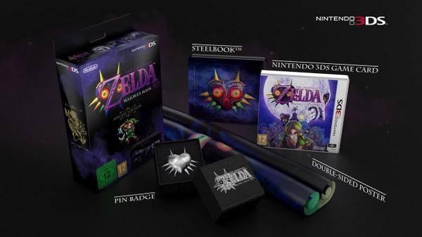 Edition collector de Majora's Mask 3DS