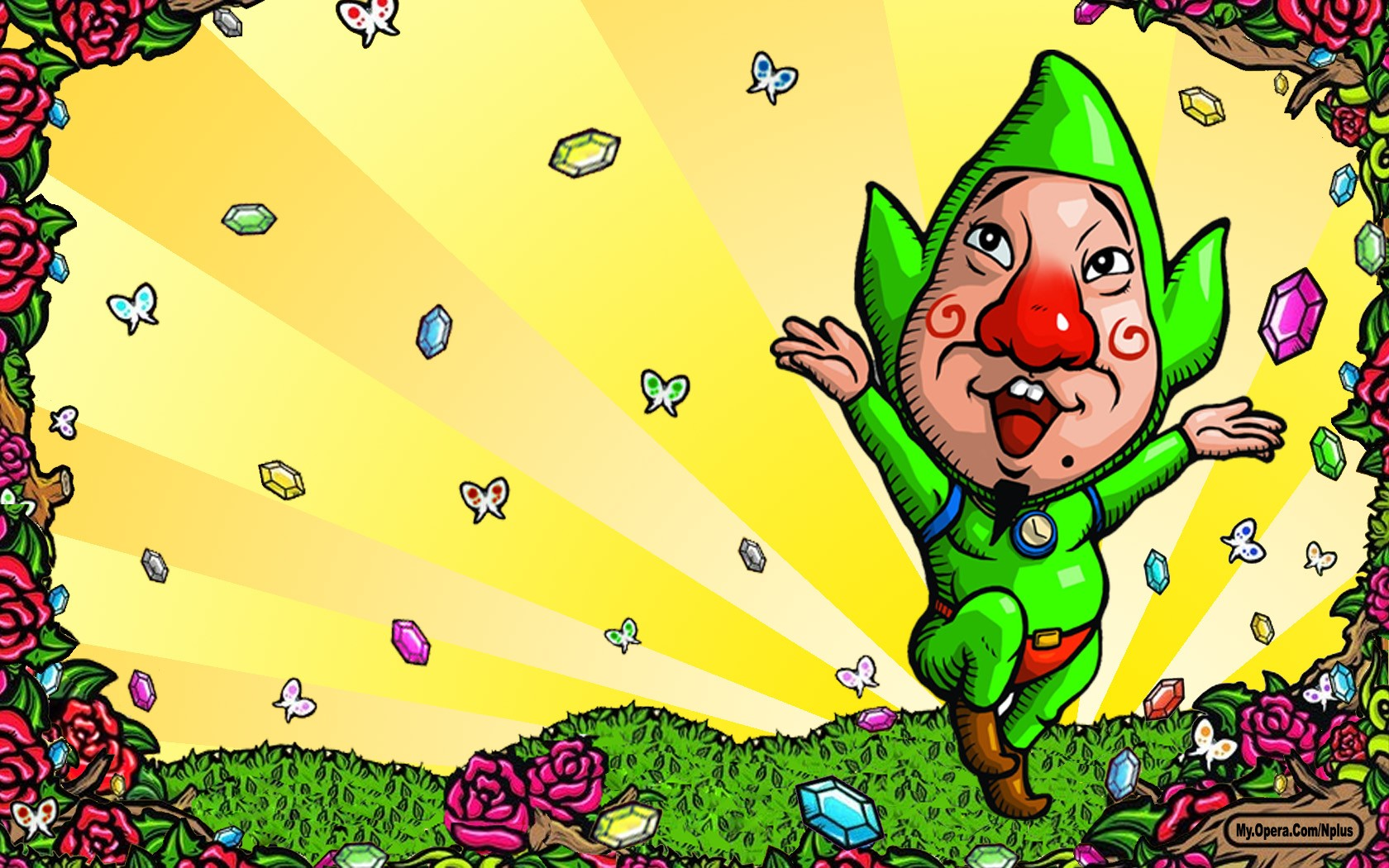 Les Origines De Tingle Actu Puissance Zelda