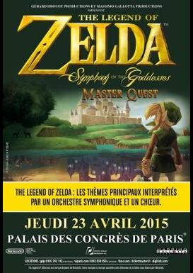 Affiche de Symphony of the Goddesses Master Quest à Paris