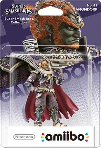 La figurine amiibo Ganondorf dans sa boîte