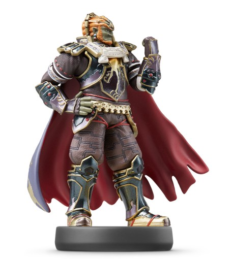 La figurine amiibo Ganondorf