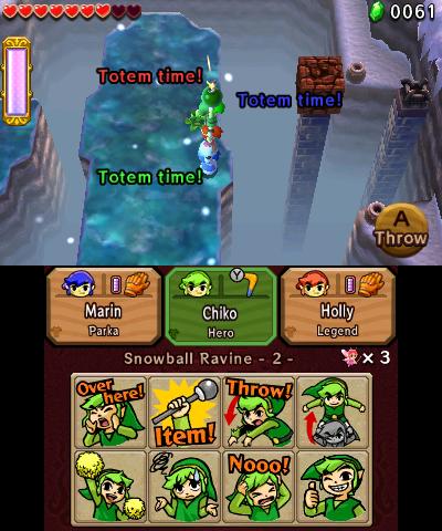 Screenshots de Tri Force Heroes du 3 septembre 2015