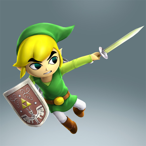 Link Cartoon dans Hyrule Warriors Legends