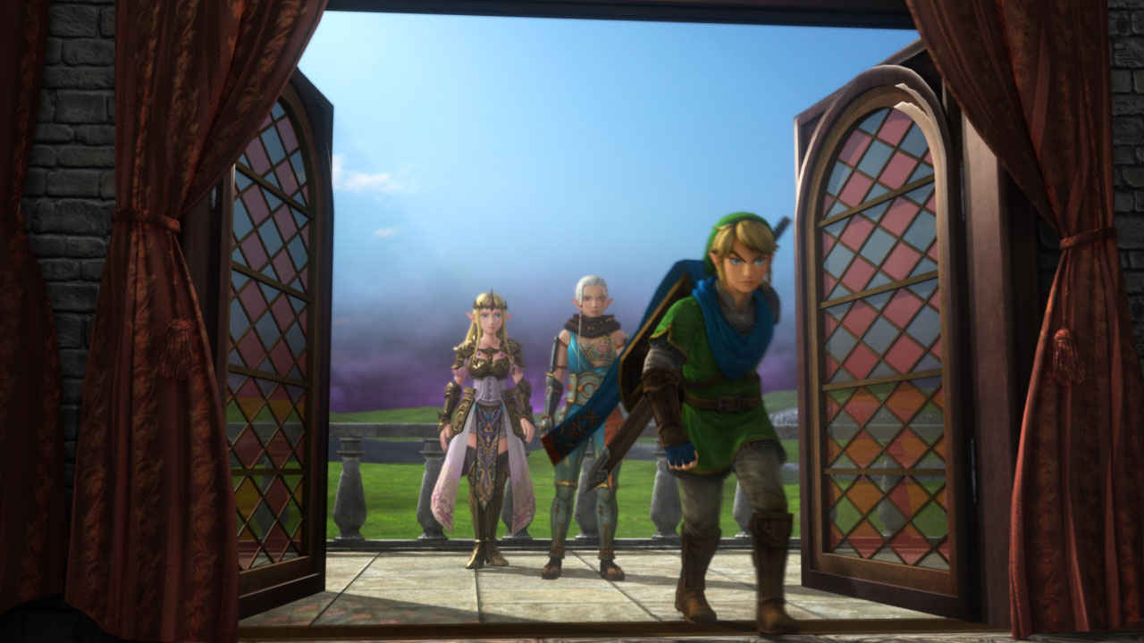 Screenshot de Hyrule Warriors Legends