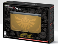 Boite de la New 3DS XL Hyrule