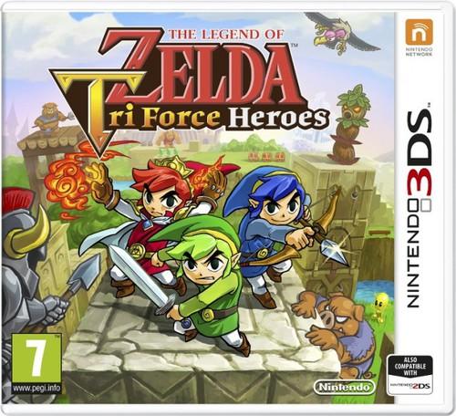 Jaquette de Tri Force Heroes européenne