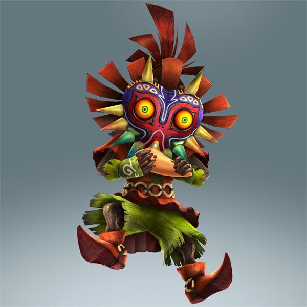 Première image officielle de Skull Kid en tant que personnage jouable de Hyrule Warriors Legends