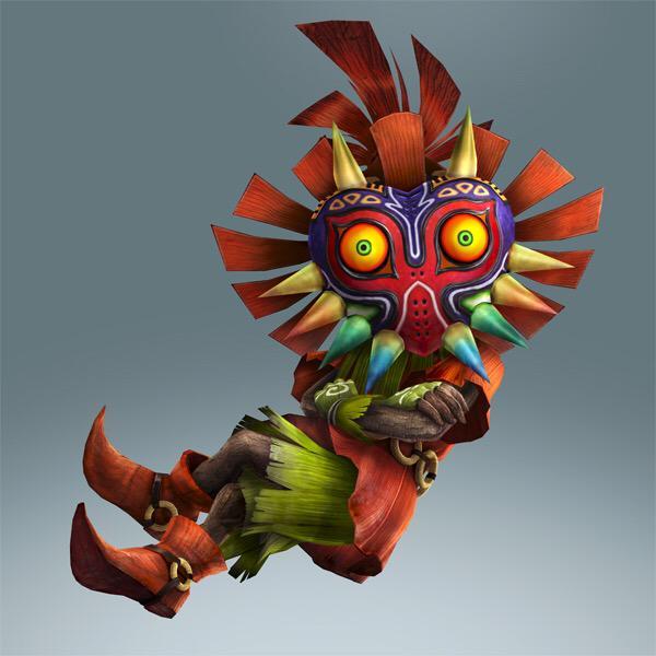 Seconde image officielle de Skull Kid en tant que personnage jouable de Hyrule Warriors Legends