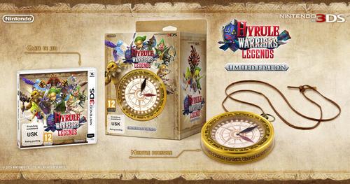 Edition limitée de Hyrule Warriors Legends