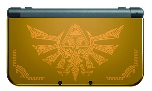 Détail de la New 3DS XL Hyrule Edition