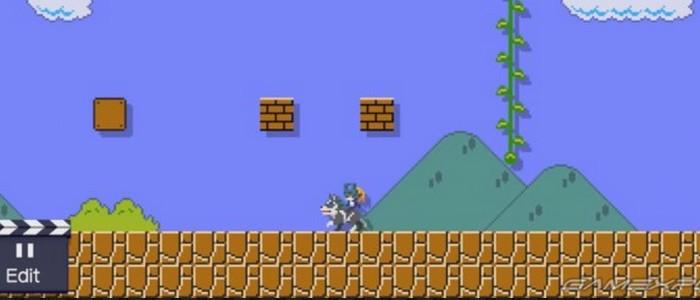 Link Loup costume pour Super Mario Maker