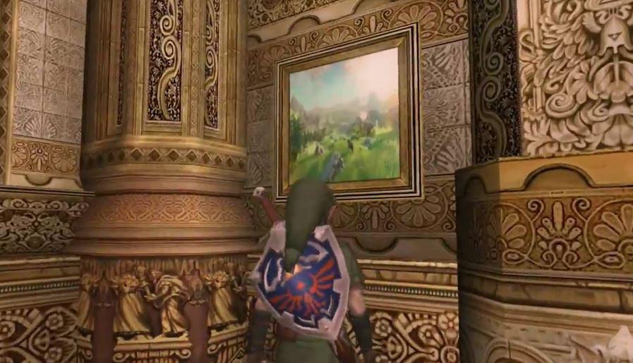 Easter egg dans la boutique de Chudley Twilight Princess HD
