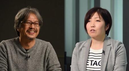 Eiji Aonuma et Tomomi Sano
