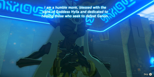 SAge Sheikah dans The Legend of Zelda : Breath of the Wild