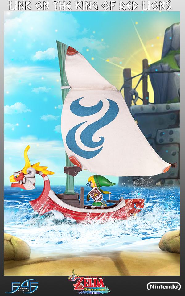 La Figurine De Link Sur Le Lion Rouge Arrive Actu Puissance Zelda