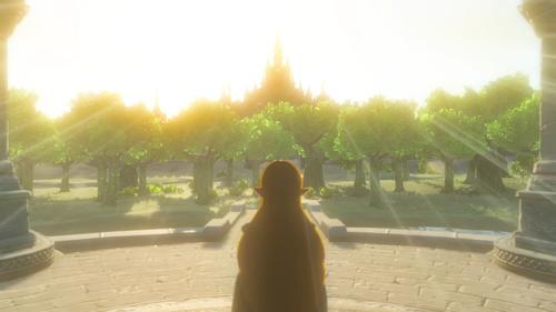 Screenshot issu du second trailer de Breath of the Wild