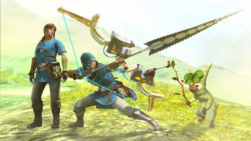 Link Monster Hunter XX