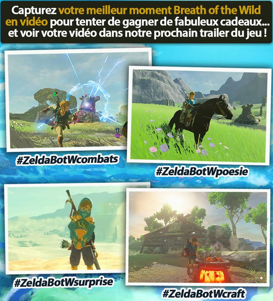Concours organisé par Nintendo pour le second DLC de Breath of the Wild