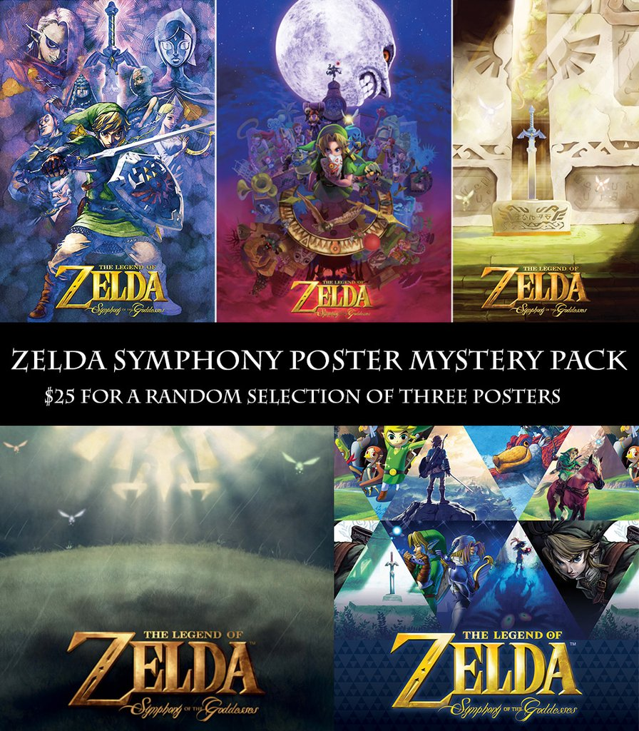 Promotion sur les posters de Symphony of the Goddesses