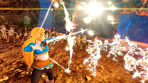 Capture d'écran d'Hyrule Warriors: Definitive Edition sur Switch