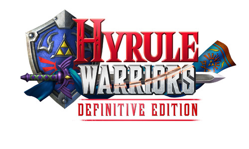 Le logo de Hyrule Warriors: Definitive Edition, pour Nintendo Switch