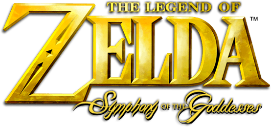 Logo de The Legend of Zelda : Symphony of the Goddesses
