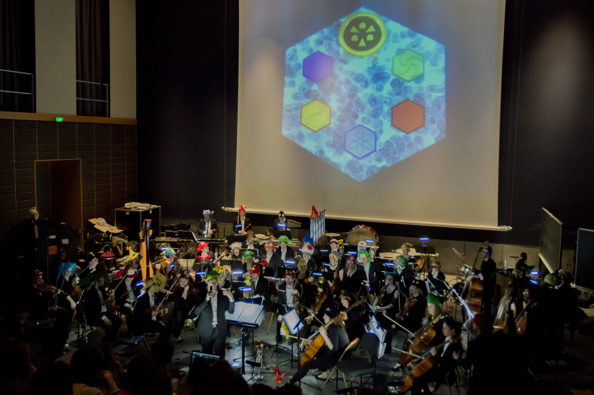 Orchestre Pixelophonia en mars 2017