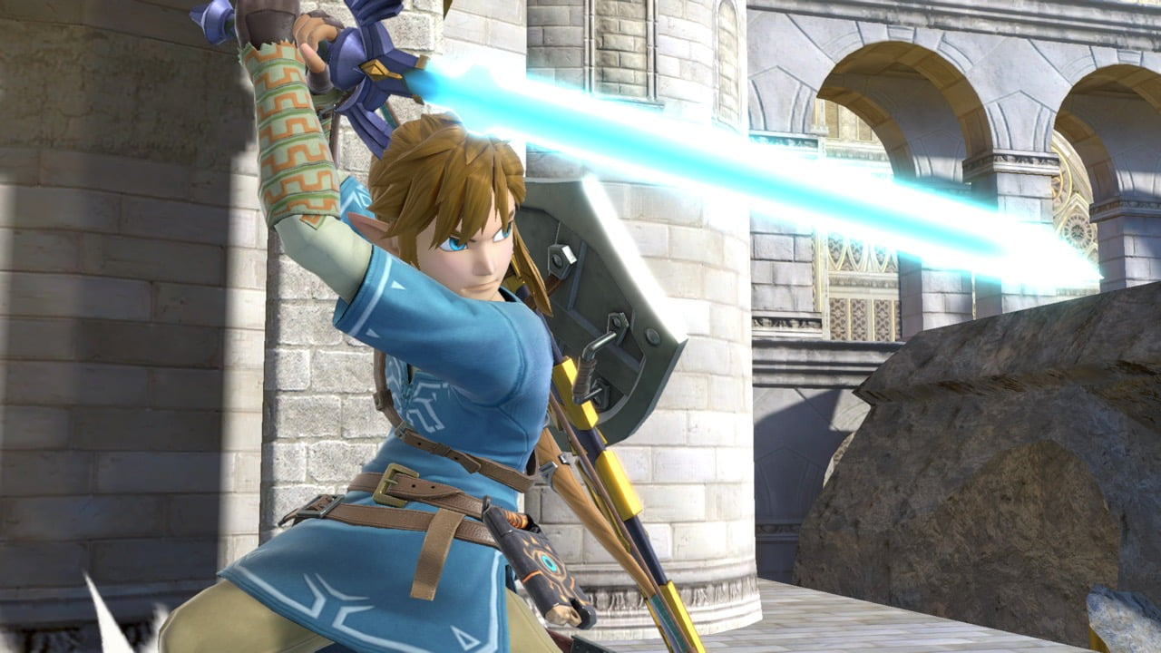 Link  dans Super Smash Bros. Ultimate
