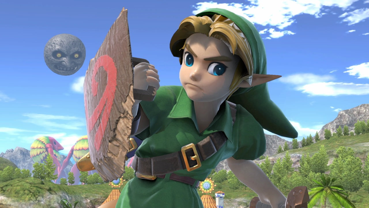 Link enfant dans Super Smash Bros. Ultimate
