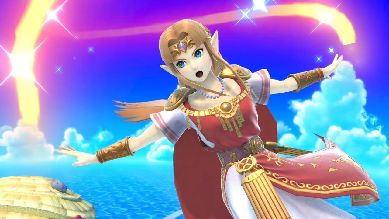 Zelda  dans Super Smash Bros. Ultimate
