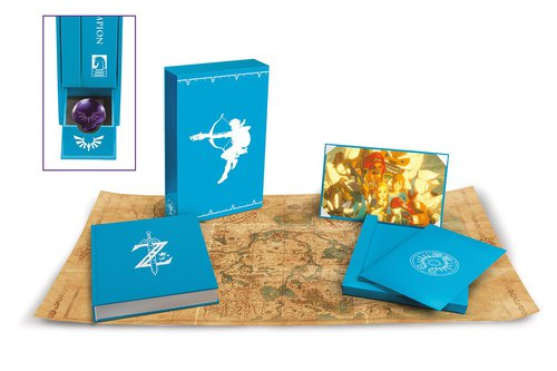 Edition collector américaine de l'artbook Breath of the Wild: Creating a Champion