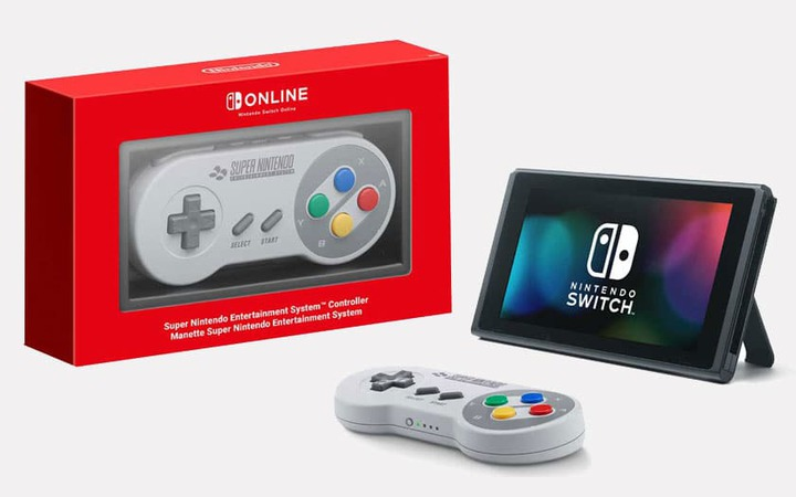 Manette Switch SNES