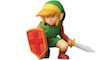 Une figurine de Link tirée de The Legend of Zelda (NES)