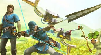Link de retour dans Monster Hunter XX