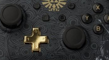 Une manette Switch Breath of the Wild