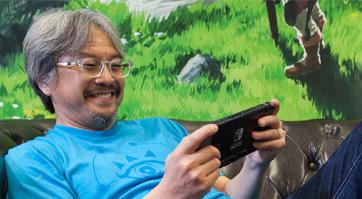 Eiji Aonuma revient sur le développement de Breath of the Wild