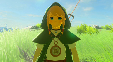 Mod : Linkle dans Breath of the Wild