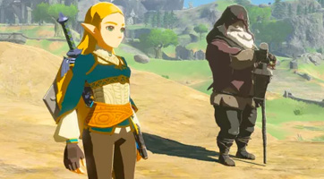 Mod : incarner la Princesse Zelda dans Breath of the Wild
