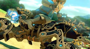 Le Destrier de Légende 0.1 disponible dans Mario Kart 8