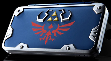 La New 2DS Hylian Shield Edition sortira aussi au Japon