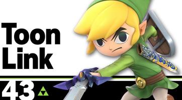 Super Smash Bros. Ultimate présente Link cartoon