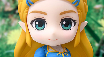 La Princesse Zelda arrive chez Nendoroïd