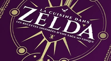 Le livre de cuisine Zelda ultime
