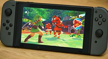 Skyward Sword HD sur Nintendo Switch