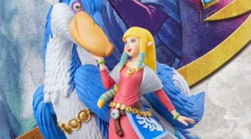 Nintendo dévoile un amiibo : Zelda et son célestrier